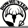 Free Bow Hunter Clipart Image