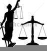 Balance Of Justice Clipart Image