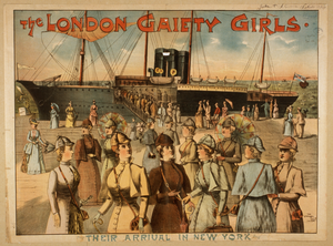 The London Gaiety Girls Image