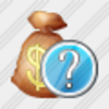 Icon Money Bag Question Image