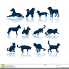 Dogs And Cats Clipart Free Image