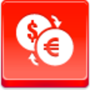 Free Red Button Icons Conversion Of Currency Image