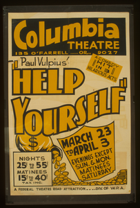 Paul Vulpius   Help Yourself  A Comedy Hit In 3 Hilarious Acts. Image