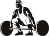 Olympic Weightlifting Clipart Image