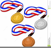 Free Clipart Olympic Medals Image