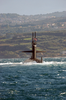 Uss Memphis (ssn 691) Heads Out To Sea Following A Brief Stop At This Eastern Mediterranean Port. Image