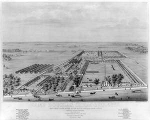 Camp Douglas, Chicago, Ill. 1864 Image