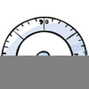 Cartoon Protractor Image
