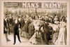 The Big Scenic Production, Man S Enemy By Chas. A. Longdon & Eric Hudson : Now In Its Fourth Year In England. Image