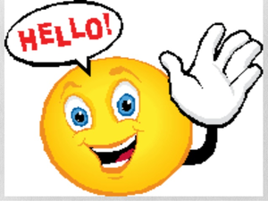 Clipart Saying Hello | Free Images at Clker.com - vector ...  Wave Hello Clipart
