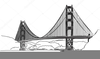 Free Golden Gate Bridge Clipart Image
