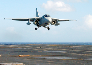 An S-3b Viking Assigned To The Scouts Of Sea Control Squadron Two Four (vs-24) Image