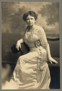 [hattie Caraway, Full-length Studio Portrait, Sitting, Facing Front] Image