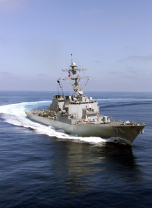 Uss Higgins (ddg 76) Underway. Image