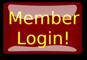 Red Rectangle Member Login Button clip art