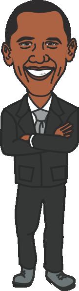 president barack obama clip art at clker com vector clip art rh clker com clipart obama free clipart barack obama