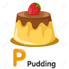 Pudding Clipart Chocolate Image