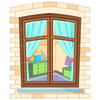 Cartoon Of A House Clipart Image