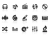 0061 Music And Audio Icons Xs Image