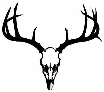Deer Head Skull Clip Art