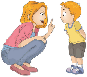 Parent Talking To Child Clipart Free Images At Clker Com Vector Clip Art Online Royalty Free Public Domain