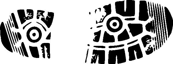 Boot Print Logo Clip Art At Clker Com Vector Clip Art