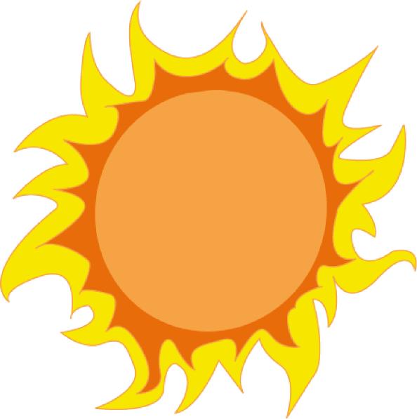 sun clip art at clker com vector clip art online royalty free rh clker com free clipart of sunset clipart of sunflowers