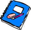 Notebook Clip Art