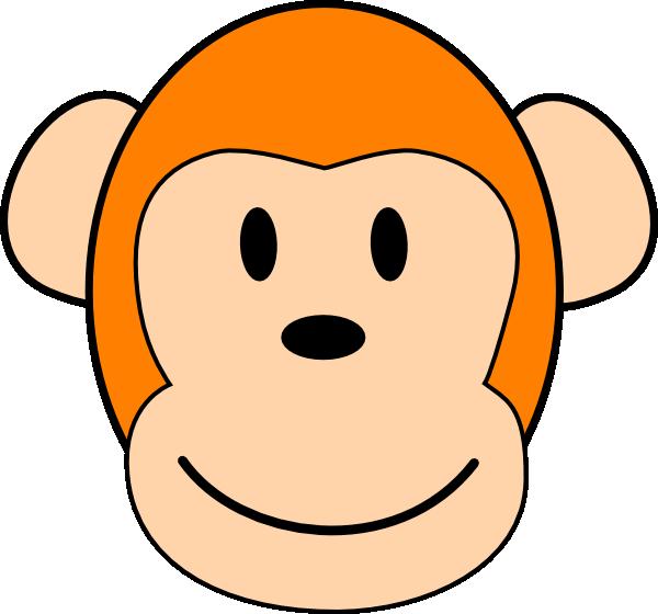 clipart monkey face - photo #27