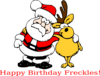 Birthday Santa Clip Art