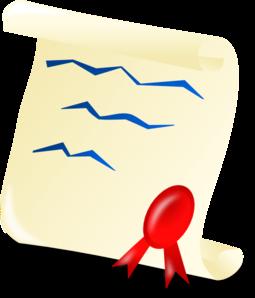 graduation certificate clip art at clker com vector clip art rh clker com certificate clip art free images certificate clip art free download
