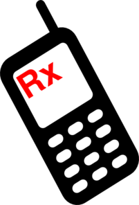 Mobile Phone Rx Clip Art