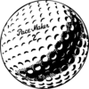 Golf Ball Clip Art