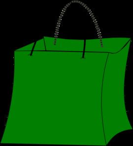 Green Gift Bag Clip Art at Clker.com - vector clip art ...