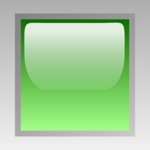Led Square Green Clip Art