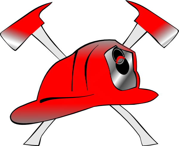 Fire Helmet Clip Art Pictures to pin on Pinterest