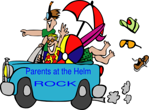 Parents At The Helm Rock Clip Art