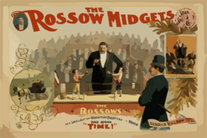 The Rossow Midgets, Star Speciality Co. Clip Art