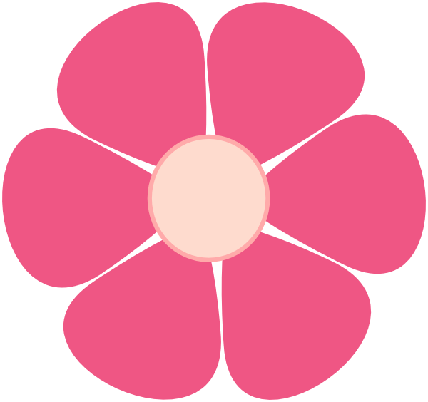 Pink Flower Clip Art At Vector Clip Art Online Royalty Free Public Domain