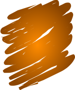Orange Blend Clip Art