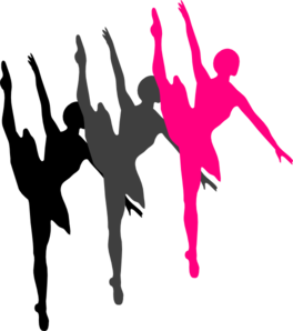 triple ballet dancer silhouette clip art at clker com vector clip rh clker com clipart of ballet dancers clipart ballet dancers free