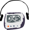 Cassette Player Clip Art