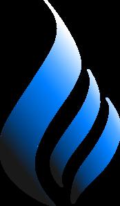 Download Fire Blue Flames Lit Colored 3d - Transparent ...  Blue Flames Clip Art