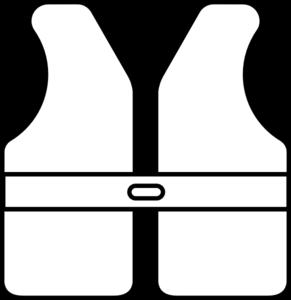 Life Vest Outline Clip Art