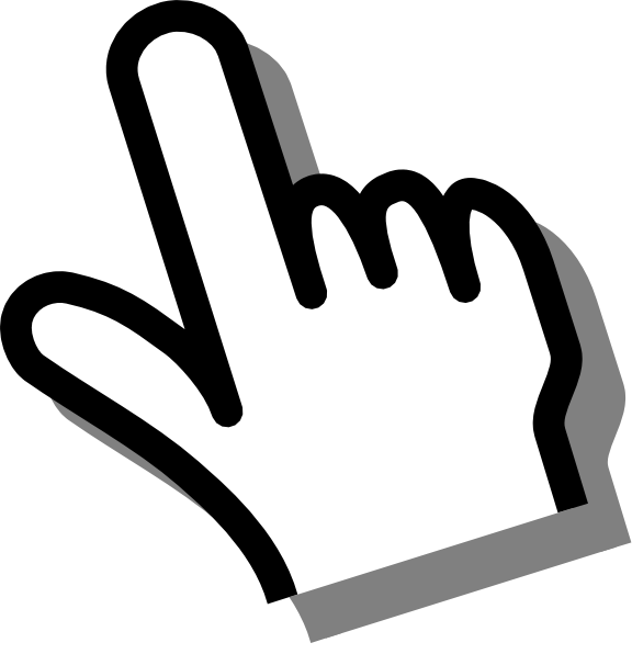 Mouse hand cursor png - photo#24
