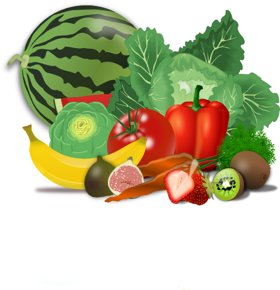 Fruits, Veggies, Healthy Clip Art at Clker.com - vector ...