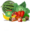 Fruits, Veggies, Healthy Clip Art