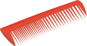 Red Comb Clip Art At Clker