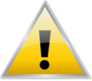 Warning Icon Clip Art