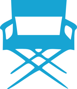 Director S Chair Turquoise Clip Art
